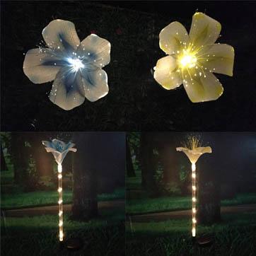 فیبر نوری نور دکوراسیون گل
